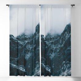 Cloud Mountain - Landscape Photography Blackout Curtain