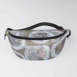 Stone wall colour 4 Fanny Pack