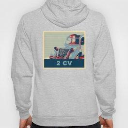2CV or The Tin Snail Hoody