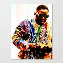 BiggieSmalls Poster Print Art B.I.G Hip Hop Canvas Print
