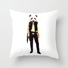 Pan Solo Throw Pillow