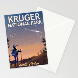 Kruger National Park, south Africa, Stationery Cards
