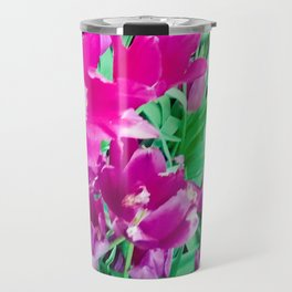 The beauty of the violet. Travel Mug