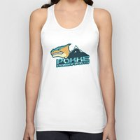 monster hunter Tank Tops featuring Monster Hunter All Stars - Pokke Permafrosts  by Bleached ink