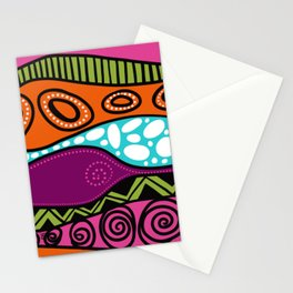 Le chat caché-Hiding cat-youhou Stationery Cards