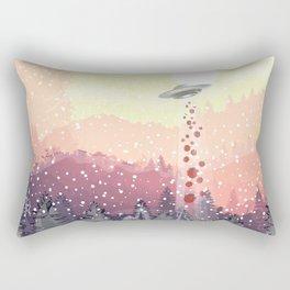 Christmas UFO Rectangular Pillow