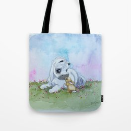 Harvey and Bunny Tote Bag