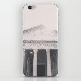 The Pantheon, fine art print, black & white photo, Rome photography, Italy lover, Roman history iPhone Skin