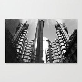 Lloyds Building. Canvas Print