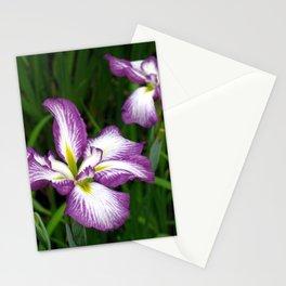 Purple Iris Photography Stationery Cards