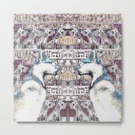Egyptian Cats Metal Print