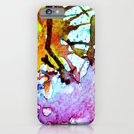 Shattered Colors iPhone Case