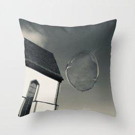 Fly Like A Soapbubble Photography Throw Pillow