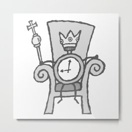 tyrant Time - No text Metal Print