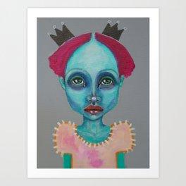 Demokrit`s girl Art Print