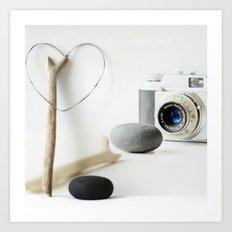 Photo Love Art Print