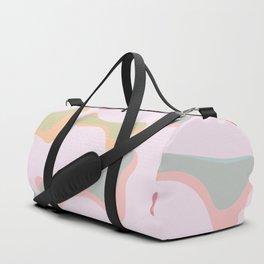 abstract bone Duffle Bag