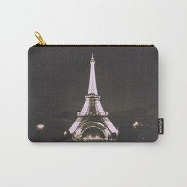Vintage Style Paris Carry-All Pouch