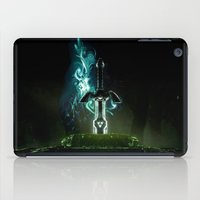 hyrule iPad Cases featuring Savior of Hyrule by qualitypunk