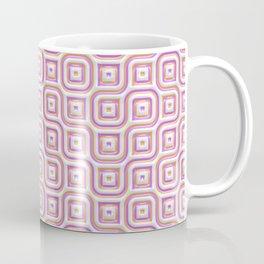 Rose Truchet Tilling Pattern Coffee Mug
