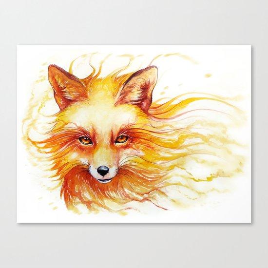 """Spirits of the Seasons - Autumn"" Canvas Print"