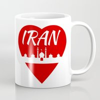 islam Mugs featuring Iran by mailboxdisco