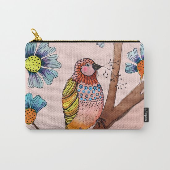 melodie in blush Carry-All Pouch