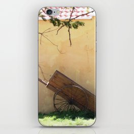 Shed with cart iPhone Skin