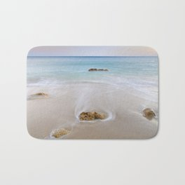 """Serenity"". Looking at the sea.... Bath Mat"