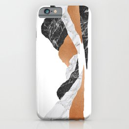 Marble Landscape II, Mountains iPhone Case