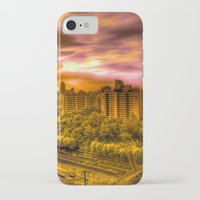korea iPhone & iPod Cases featuring Sunrise in Korea by Anthony M. Davis