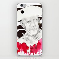 picasso iPhone & iPod Skins featuring Picasso by Mitja Bokun