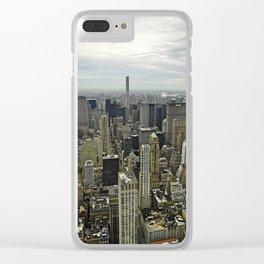 Upper Manhattan Clear iPhone Case