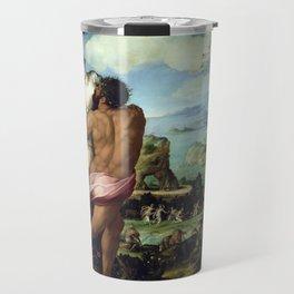 Alessandro Allori The Abduction of Proserpine Travel Mug