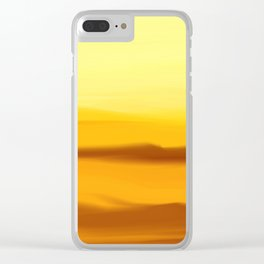 Desertic suggestion Clear iPhone Case