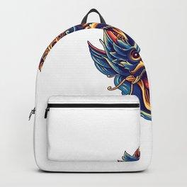 Garuda Indonesia Culture Illustration Design Backpack