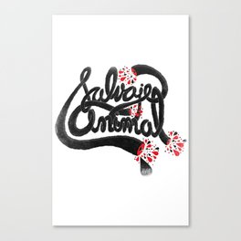 SALVAJEANIMAL headless III Canvas Print