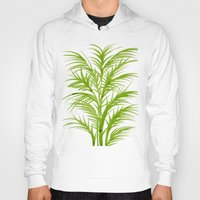 lime Hoodies featuring Lime Palms by Cat Coquillette