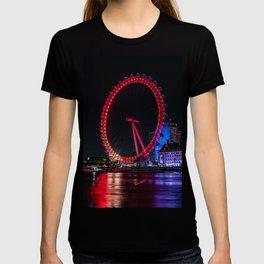 The London Eye on The River Thames T-shirt