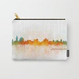 Jerusalem City Skyline Hq v3 Carry-All Pouch