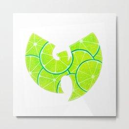 Lime Wu Metal Print