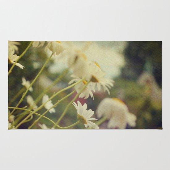 Summer Daisies Rug