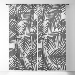 Tropical Pattern 02D Sheer Curtain