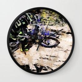 Wild Ride - Motocross Rider Wall Clock
