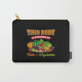 Vegan Plant Powered Carry-All Pouch