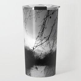 Fast Flowing river in Sonning Travel Mug
