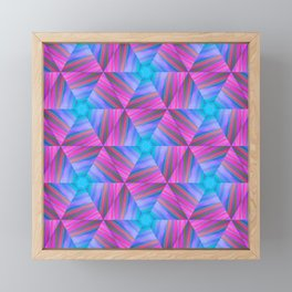 bubbles 7 pinwheel Framed Mini Art Print