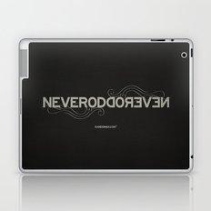 Palindrome: Never Odd... Laptop & iPad Skin