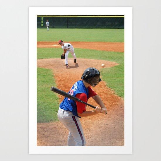 Little League 2012 State Championship Art Print