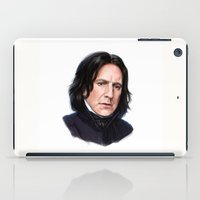 snape iPad Cases featuring Sad Snape by Annike